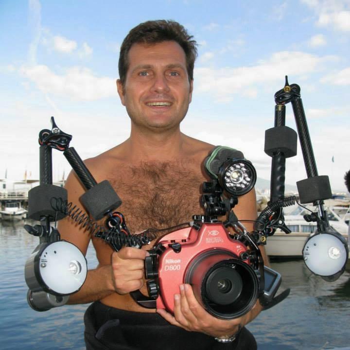 Il fotografo subacqueo Marco Gargiulo