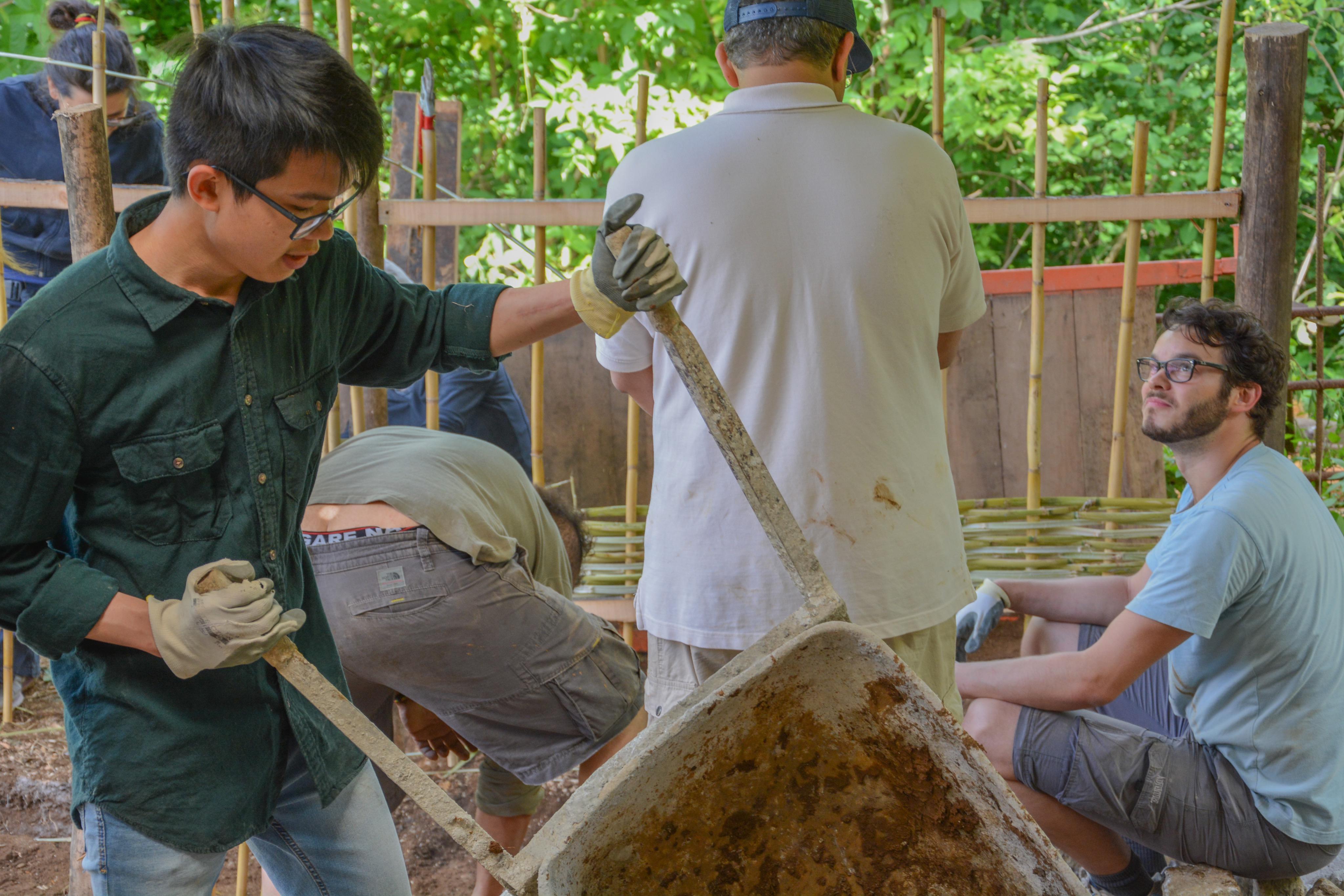 Minh at work