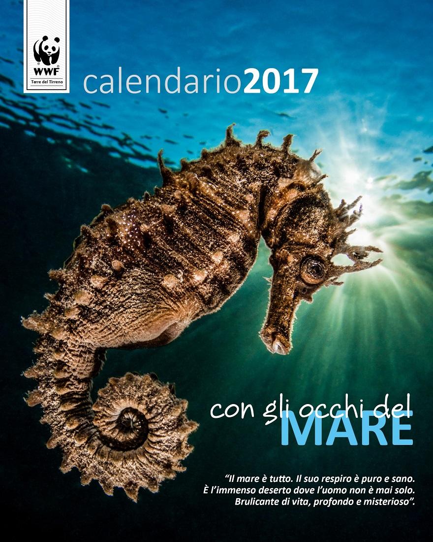 Il Calendario 2017 del Wwf Terre del Tirreno