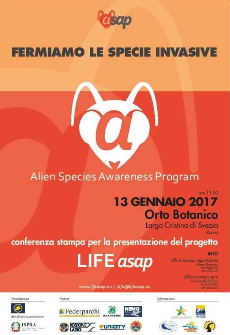 Specie invasive, pericolo in Italia